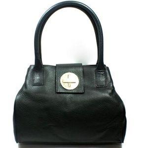 NWOT Kate Spade Black Bexley Anisha Bag Turn Lock